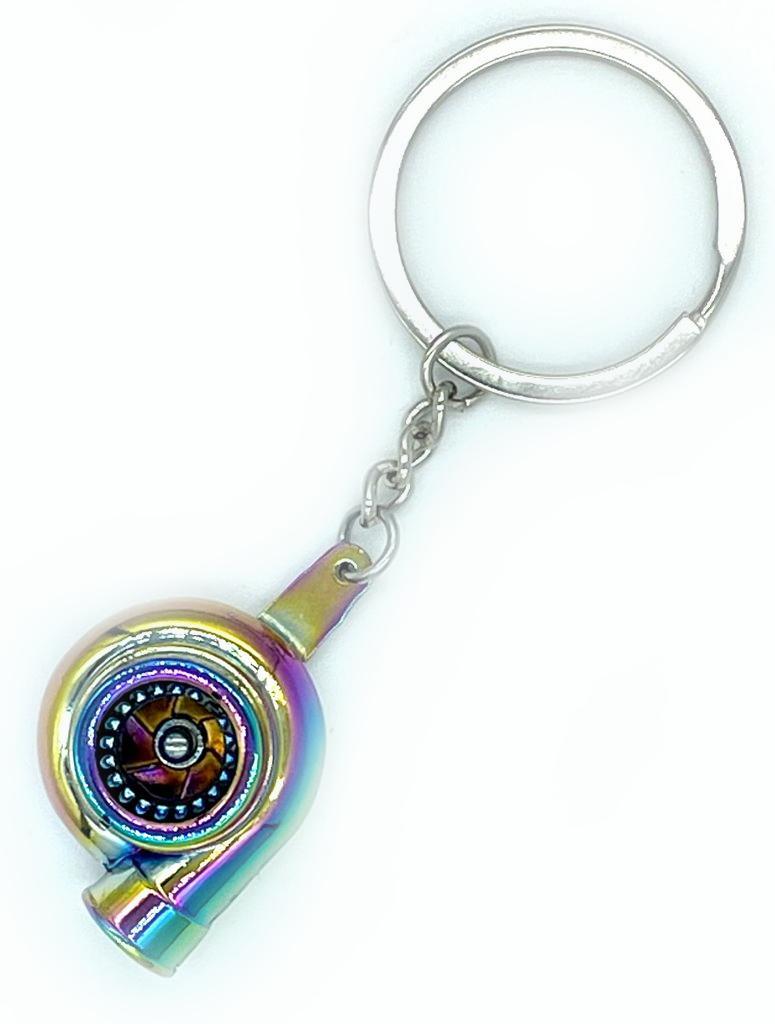 Schlüsselanhänger Turbolader Neochrome Farbe