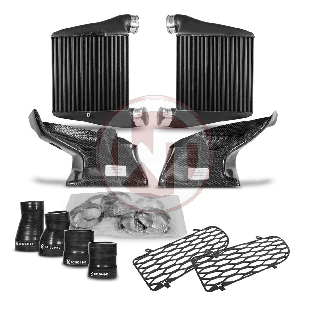 Comp. Ladeluftkühler Kit EVO2 Audi A4 RS4 B5