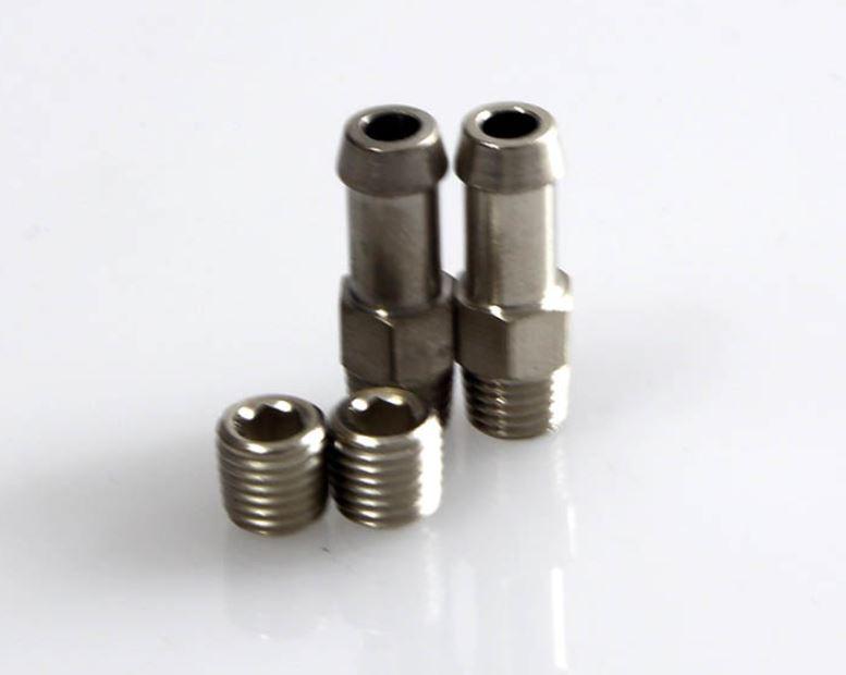 1-16NPT 6mm Schlauchanschluesse + Stopfen