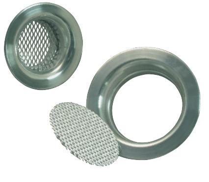Aluminium-Lufteinlass und -Gitter
