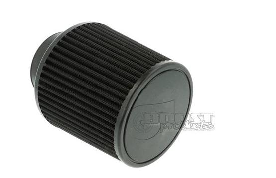 BOOST Products Universal Luftfilter schwarz 127mm / 76mm Anschluss