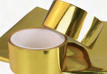 Selbstklebendes Gold-Hitzeschutzband