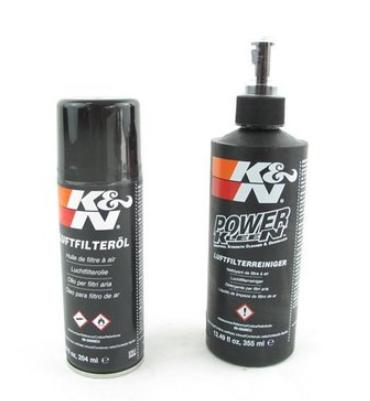 K+N Luftfilter Reinigungskit Reiniger + Öl