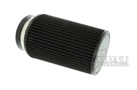 BOOST Products Universal Luftfilter schwarz 200mm / 100mm Anschluss