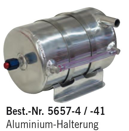 Aluminium-Halterung für Aluminium-Ölsammelbehälter Rund
