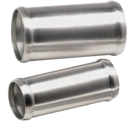 Gerade Verbindungsrohre - außen-Ø: 102 mm