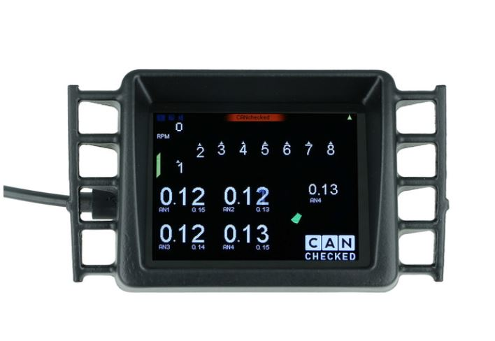 "MFD28 - 2.8"" Display VW Golf 5 mit VAG OBD II Adapter"