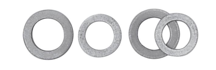 Alu- und Kupfer-Dichtringe