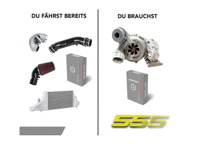 Stage 555 2.5 TFSI OPF - Paket 6