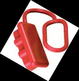 Schutzkappe rot Groß
