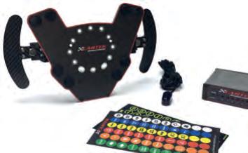 Wireless Lenkradschaltersystem mit Paddle-Shift