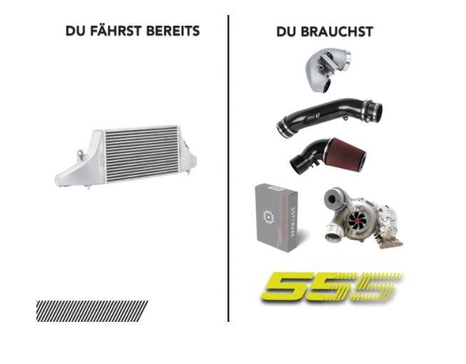 Stage 555 2.5 TFSI OPF - Paket 3