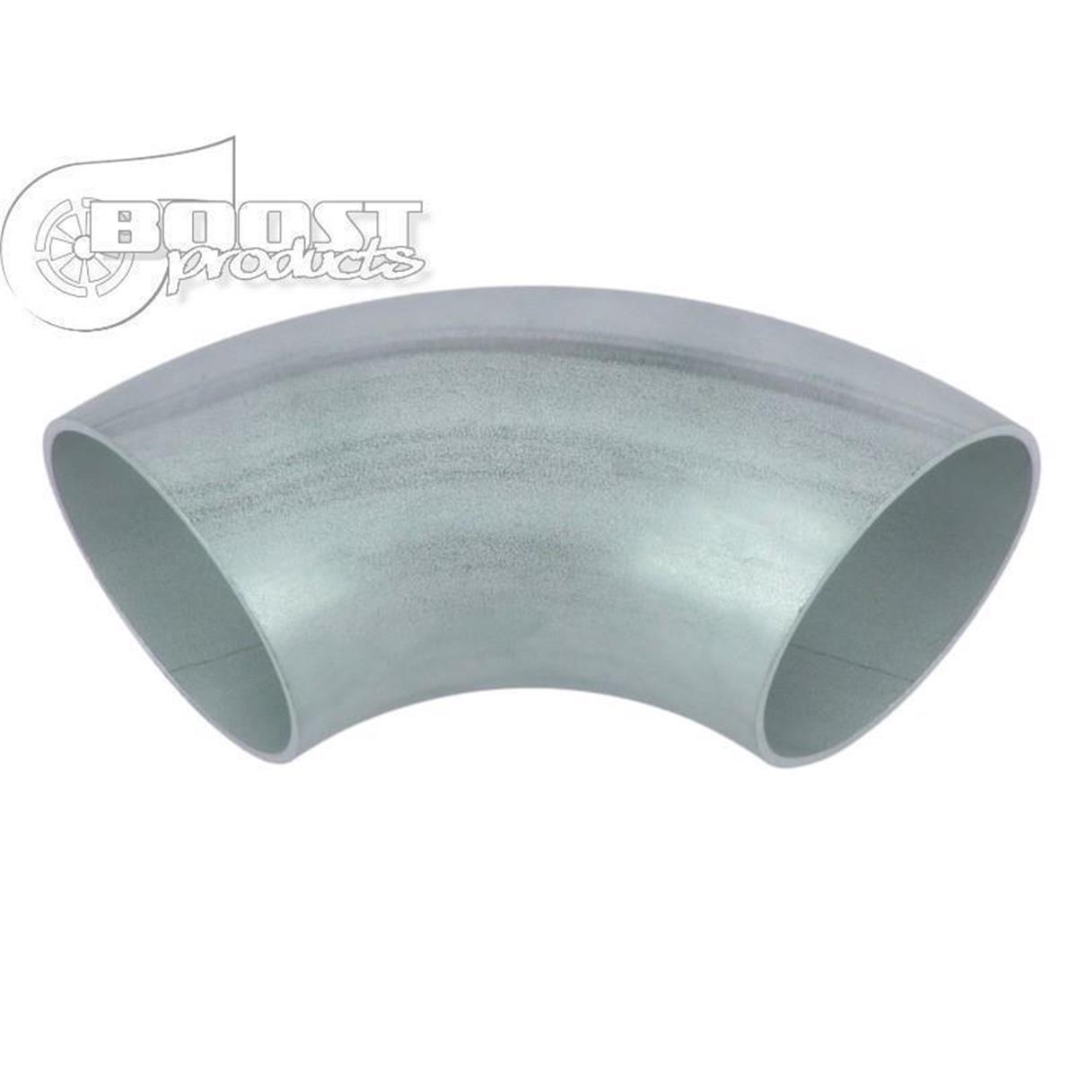 Edelstahl Auspuffbogen 90° 63,5mm x 1,5mm für Hosenrohre