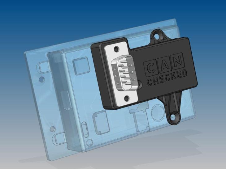 Serieller-Adapter für alle CANchecked MFD28 / MFD32 Displays
