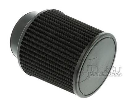 BOOST Products Universal Luftfilter schwarz 127mm / 89mm Anschluss