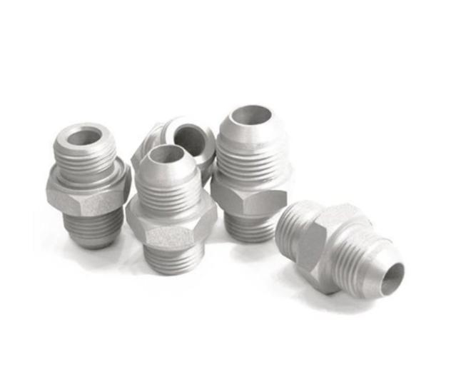 Adapter Aluminium 3/4 UNF auf Dash06, Dash08, Dash10