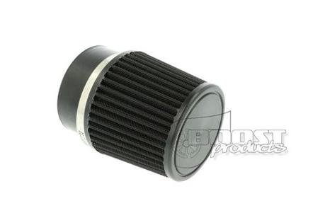 BOOST Products Universal Luftfilter schwarz 90mm / 76mm Anschluss