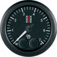 Öldruck 0-7 bar Pro-Control mit Alarmsystem